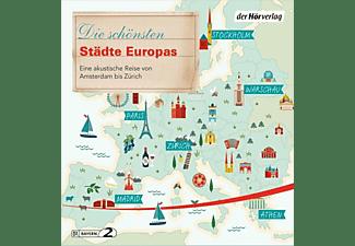 Schairer,Florian,  Wollen,Vera,  Schuchmann,Manfr - Die schönsten Städte Europas  - (CD)
