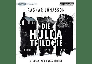 Ragnar Jonasson - Die Hulda-Trilogie: Dunkel-Insel-Nebel  - (CD)