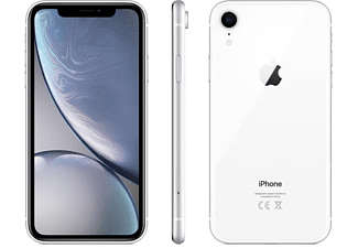 APPLE iPhone XR 64 GB Weiß Dual SIM