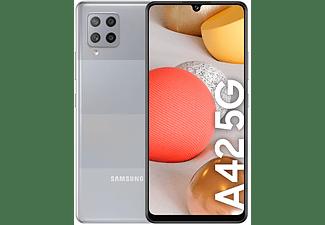 "Móvil - Samsung Galaxy A42 5G, Gris, 128 GB, 4 GB, 6.6"" HD+, 2,2 GHz, 5000 mAh, Android"