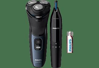 PHILIPS S3134/57 Elektrischer Nass- und Trockenrasierer Series 3000