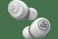 Auriculares inálambricos - JLAB Go air, True Wireless, 20 h, Bluetooth 5.0, Blanco + Estuche de carga