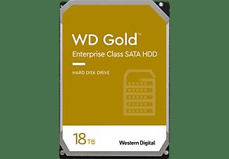 WD Gold Festplatte, 18 TB HDD SATA 6 Gbps, 3,5 Zoll, intern
