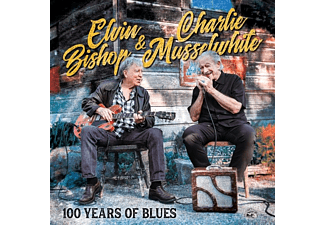 Elvin & Charlie Musselwhite Bishop - 100 YEARS OF BLUES  - (CD)