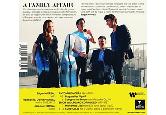 Edgar Moreau - A FAMILY AFFAIR  - (CD)
