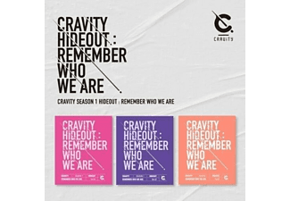 Cravity - CRAVITY HIDEOUT(KEIN RR)  - (CD)
