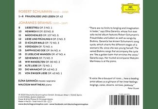 Malcolm Martineau, Garanca Elina - Schumann And Brahms Lieder  - (CD)