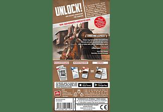 SPACE COWBOYS Unlock! - Tombstone Express (Einzelszenario) Gesellschaftsspiel Mehrfarbig