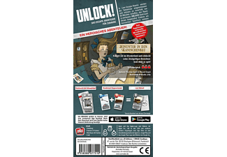 SPACE COWBOYS Unlock! - Hinunter in den Kaninchenbau • (Einzelszenario) Gesellschaftsspiel Mehrfarbig