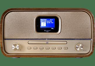 SOUNDMASTER Musikcenter DAB970BR mit DAB+/UKW, CD/MP3, USB, Bluetooth und Farbdisplay