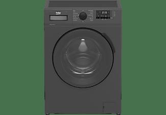 Lavadora carga frontal - Beko WTV7512DAR, 7kg, 1000 rpm, OptiSense®, 15 programas, AntiCrease+, Negro
