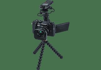 OLYMPUS E-M5III 12mm F2.0 Vlogger Kit + LS-P4 Spiegellose Systemkamera 20.4 Megapixel Megapixel mit Objektiv 12mm, 7,6 cm Display