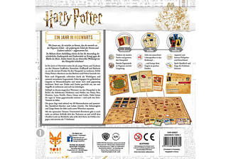 TOPI GAMES Harry Potter: Ein Jahr in Hogwarts Gesellschaftsspiel Mehrfarbig