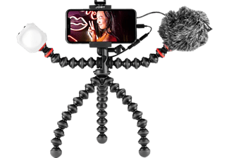 JOBY GorillaPod Mobile - Vlogging Kit (Noir/Rouge)