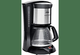 Cafetera de goteo - Ufesa CG7232 Avantis Optima, 1 l, 10 Tazas, 800 W, Filtro Permanente, Negro
