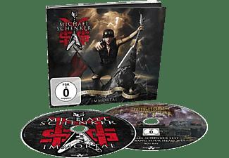 Msg - The Michael Schenker Group - Immortal (CD+Blu-Ray)  - (CD + Blu-ray Disc)