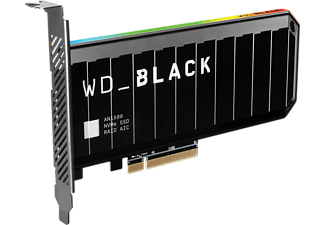 WD Black™ AN1500 Gaming Festplatte Bulk, 4 TB SSD M.2 via PCIe, intern
