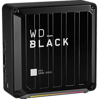 WD Black D50, 0 TB SSD, extern, Schwarz