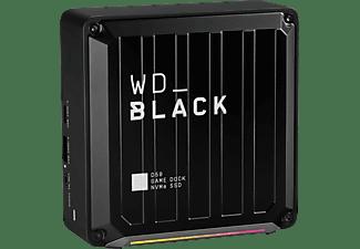 WD Black D50 Docking Station, 2 TB SSD, extern, Schwarz