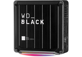 WD Black D50 Docking Station, 0 TB SSD, extern, Schwarz