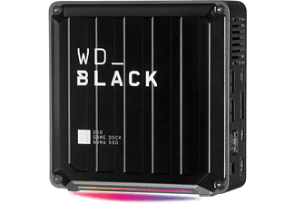WD Black D50 Docking Station, 1 TB SSD, extern, Schwarz