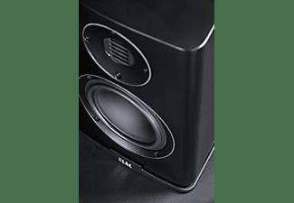 ELAC Carina BS 243.4 HiFi Lautsprecher (Hochtöner: Nach JET-Prinzip gefalteter Air-Motion-Transformer, Tieftöner: 1 x 150 mm, Aluminium Konus, Schwarz