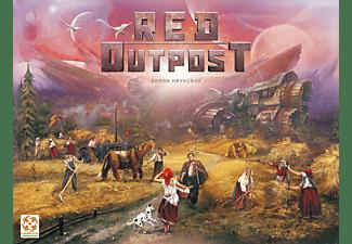 LIFESTYLE BOARDGAMES Red Outpost Gesellschaftsspiel Mehrfarbig