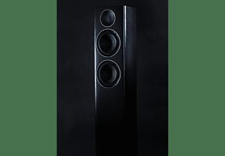 ELAC Carina FS 247 HiFi Lautsprecher (Hochtöner: Nach JET-Prinzip gefalteter Air-Motion-Transformer, Tieftöner: 2 x 150 mm, Aluminium Konus, Schwarz