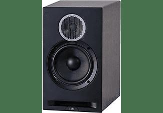 ELAC Debut Reference B6 HiFi Lautsprecher (Hochtöner: 1 x 25 mm Kalotte, Tieftöner: 1 x 165 mm Konus, Aramid-Faser verstärkt, Schwarz/Holz