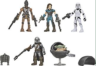 HASBRO Star Wars Mission Fleet The Mandalorian/The Child Cara Dune/IG-11 Stormtrooper Actionfiguren Mehrfarbig