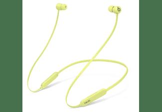 Auriculares inalámbricos - Beats Flex Wireless, inalámbricos, Autonomia 12h, Bluetooth, Amarillo Yuzu