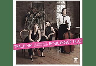 Boulanger Trio - Teach Me !  - (CD)