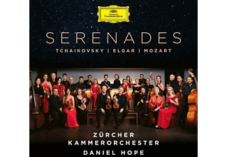 Zürcher Kammerorchester Daniel Hope - Tchaikovsky / Elgar / Mozart: Serenades  - (CD)