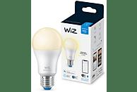 Bombilla inteligente - Wiz A60 E27, 60W, Luz blanca cálida regulable, Wifi y Bluetooth, Control por voz