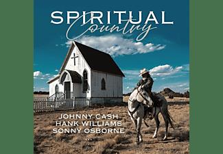 CASH,JOHNNY-WILLIAMS,HANK-OSBORNE,SONNY - SPIRITUAL COUNTRY  - (CD)