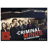 Criminal Minds - Komplettbox Staffel 1-15 DVD