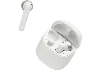 JBL Tune 220, In-ear Kopfhörer Bluetooth Weiß