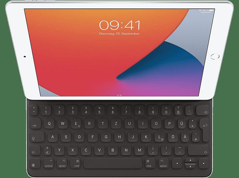APPLE Smart Keyboard für 10.5 iPad Pro, 7. und 8. Generation , Air 3. Generation MX3L2D A Tastatur Schwarz