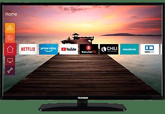 TELEFUNKEN D39H500R1CW LED TV (Flat, 39 Zoll / 98 cm, HD-ready, SMART TV)