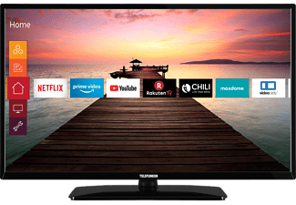 TELEFUNKEN D32F551R1CWI LED TV (Flat, 32 Zoll / 80 cm, Full-HD, SMART TV)