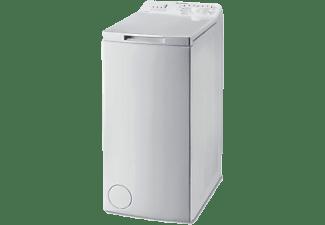 Lavadora carga superior - Indesit BTW L72200 ES/N, 7 kg, 1200 rpm, 7 programas,  Blanco