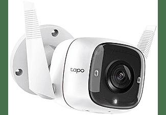 Cámara de vigilancia IP - TP-Link Tapo C310, Micrófono, Full HD+, Audio bidireccional, Visión nocturna, Blanco