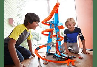 HOT WHEELS Himmelscrash-Turm inklusive Spielzeugauto motorisierte Autorennbahn Mehrfarbig
