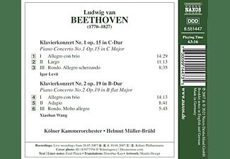 Levit,Igor/Wang,Xiaohan/Kölner Kammerorchester - PIANO CONCERTOS NOS. 1 AND 2  - (CD)
