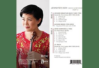 Jennifer Koh - Bach And Beyond Part 3  - (CD)