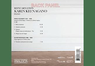 Karin Kei Nagano - Reincarnation: Schubert-Messiaen  - (CD)
