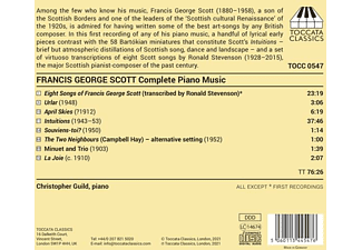 Christopher Guild - Complete Music for Solo Piano  - (CD)