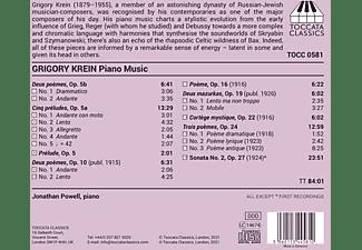Jonathan Powell - Piano Music  - (CD)