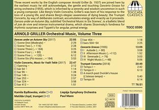Bydlowska/Lloyd/Mann/Liepaja Symphony Orchestra - Orchestral Music Vol.3  - (CD)
