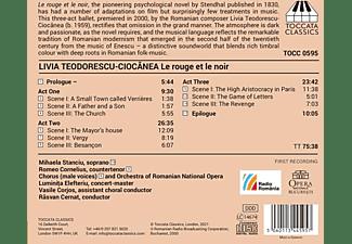 Stanciu/Cornelius/Cernat/Romanian National Opera - Le Rouge et le Noir  - (CD)